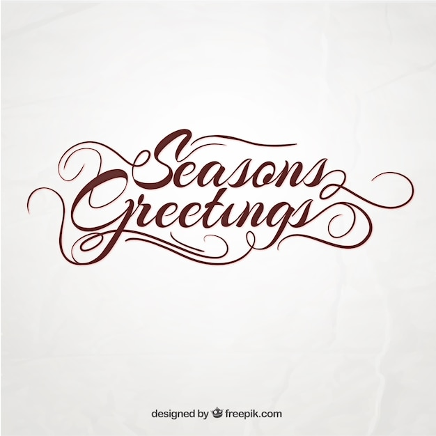 Seasons greetings vector free download seasons greetings free vector m4hsunfo