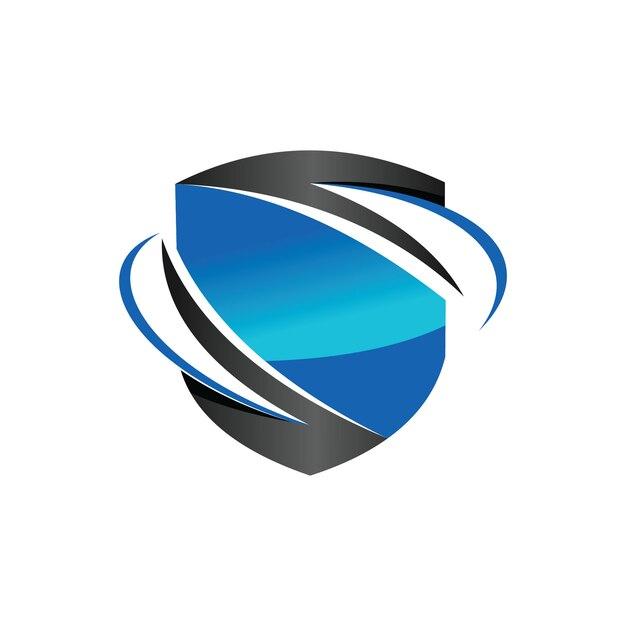 Secure exchange tradingのロゴ Premiumベクター