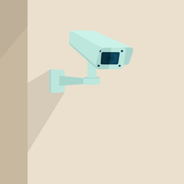 Security camera background Free Vector