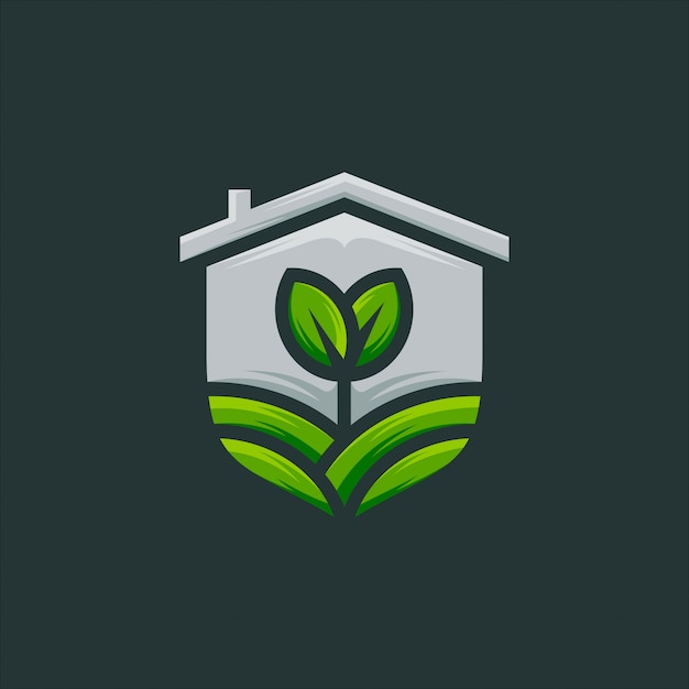Seed, sprout, agriculture logo design vector Premium Vector