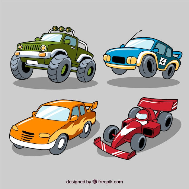 Racing Car With Side Skirts Icons Free Download