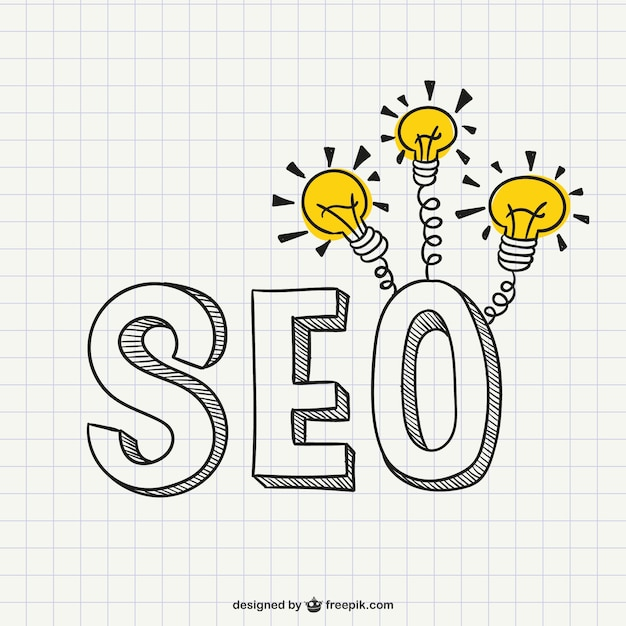 SEO Idea vector Free Vector