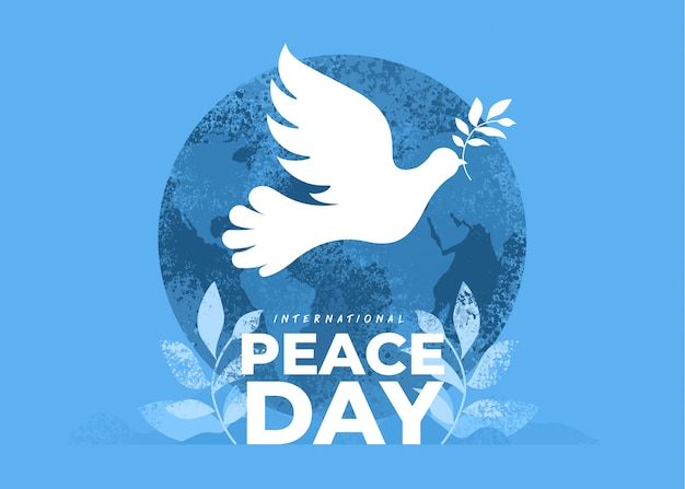 Sep international peace day Premium Vector