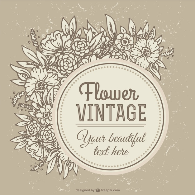 sepia vintage flower background_23 2147490536