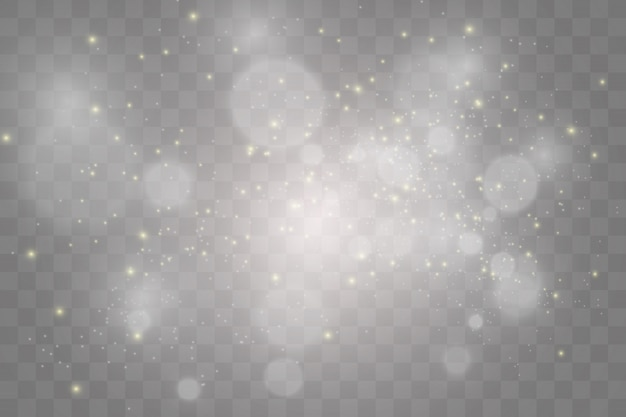 Set of bright beautiful stars. light effect. bright star. beautiful light to illustrate. Premium Vector