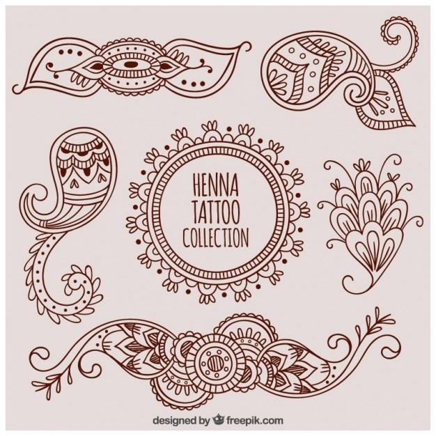 Henna Foot Design Tattoo