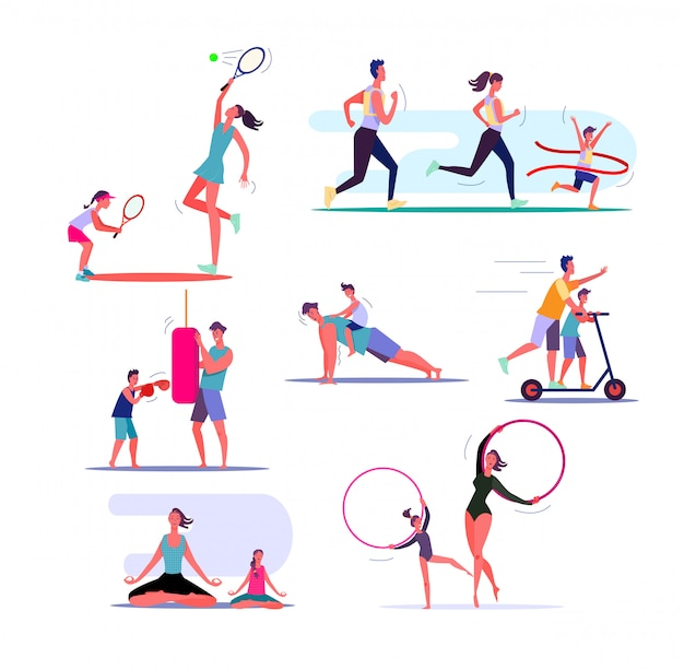 Set of families exercising Free Vector