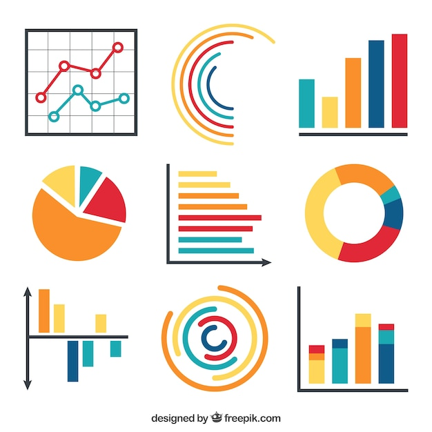 Set of infographic elements Premium Vector