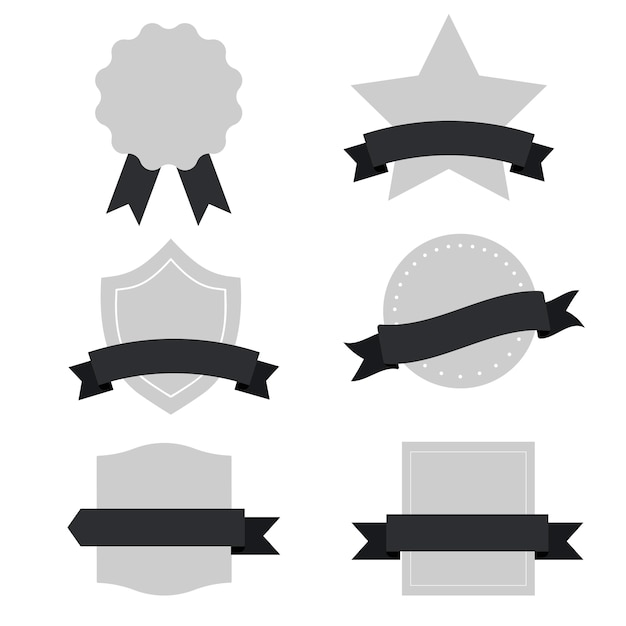 Set of mixed banners vector Free Vector