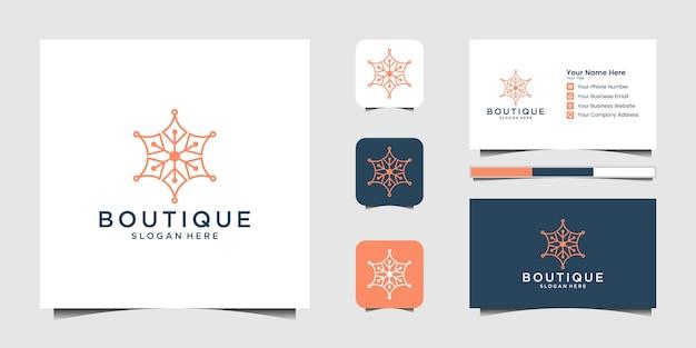Set of nautical marine and marine anchor creative logo design Premium Vector