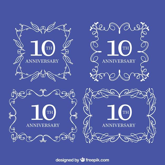 anniversary templates