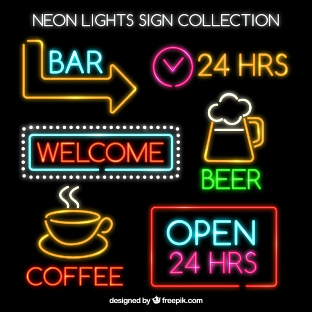 Set Of Bright Neon Signs Vector  Free Download. Corresponding Signs. Glitter Signs. Clear Background Signs Of Stroke. Angies Horoscope Signs. Left Arm Pain Signs. Gangster Disciple Signs Of Stroke. Patch Signs Of Stroke. Flea Market Signs Of Stroke