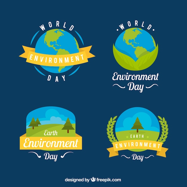 how to make badge on environment