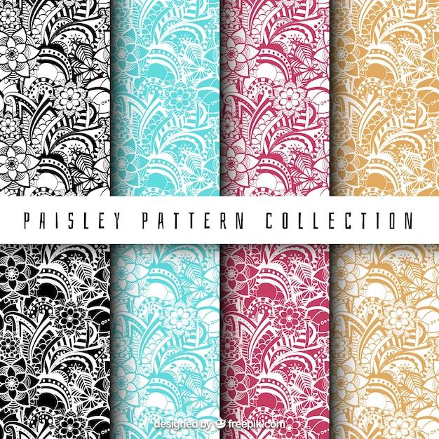 paisley vector free download