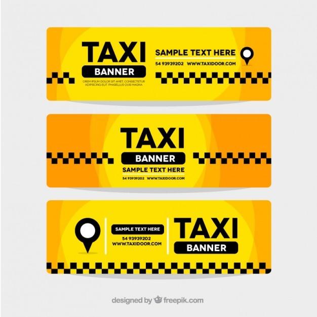 مجموعه سه آگهی ها چكيده تاکسی زرد