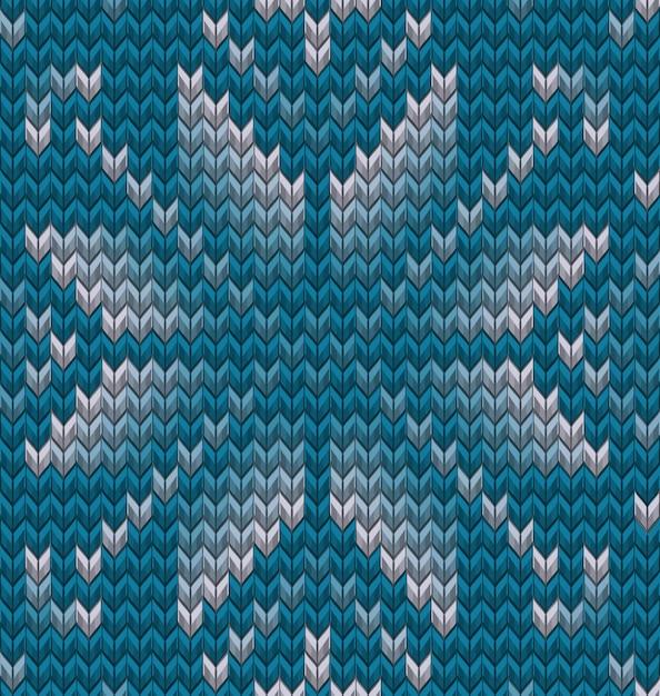 Набор из двух зимних свитер с рисунком. рождество бесшовные вязание фон. а также включает в себя Premium векторы