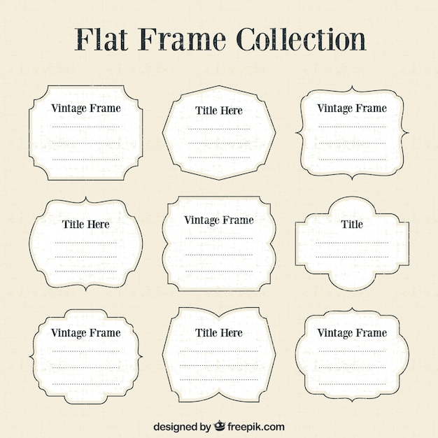 Download Vector - Text frame with watercolor stain - Vectorpicker