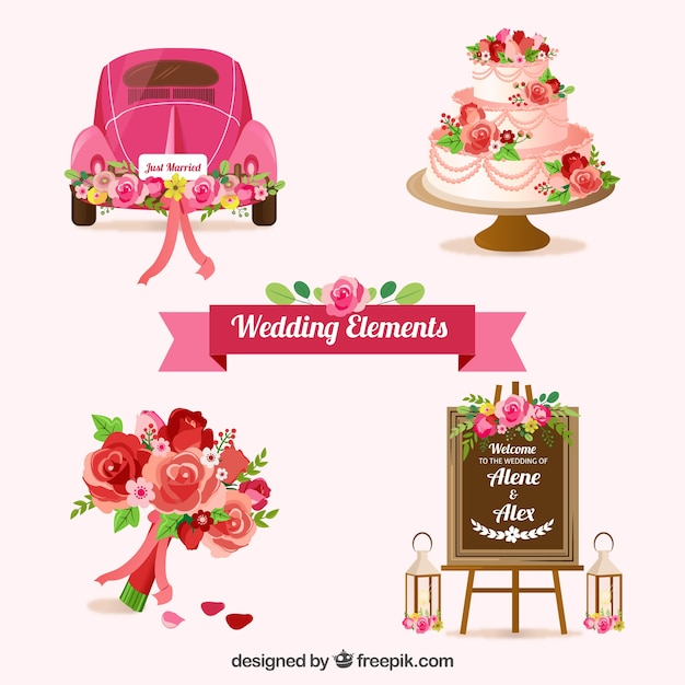 Wedding Flowers Vector Free Download : Wedding cake vectors photos and psd files free download