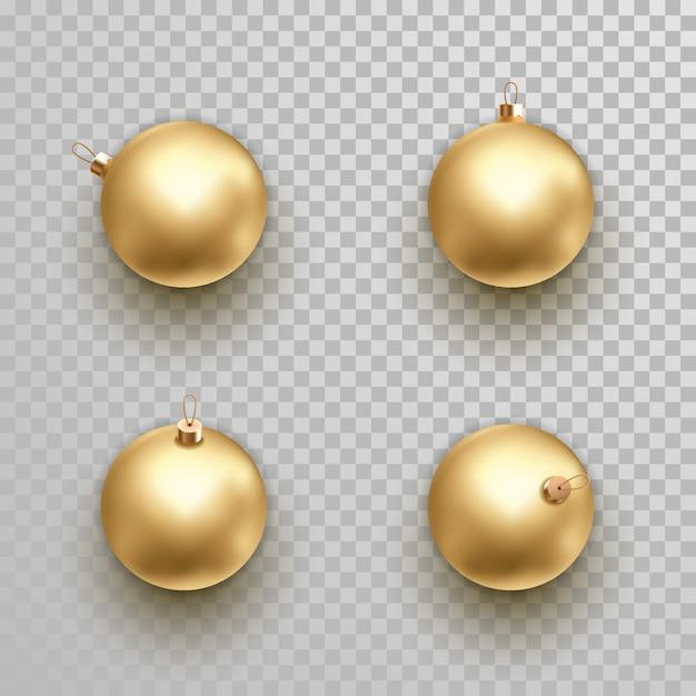 Set of ornament golden decoration Premium Vector