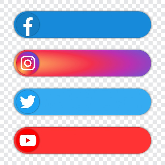 Download facebook instagram twitter snapchat icons png