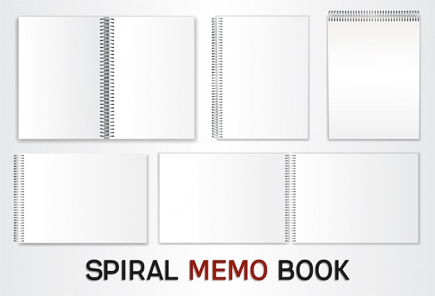 Set of templates for albums Premium Vector