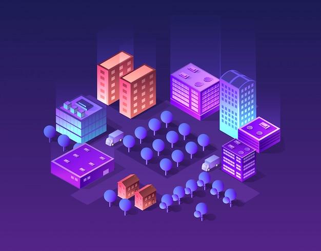 Set of violet colors Premium Vector