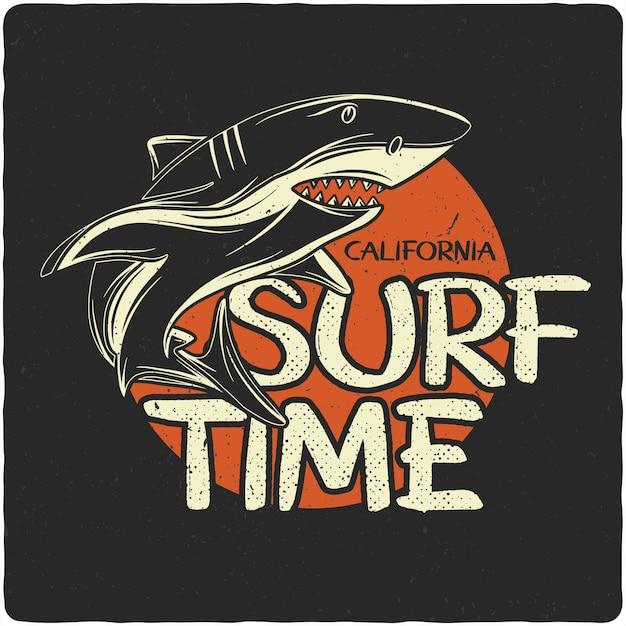 鮫 Premiumベクター