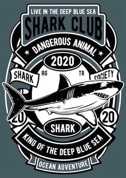 Акула Premium векторы