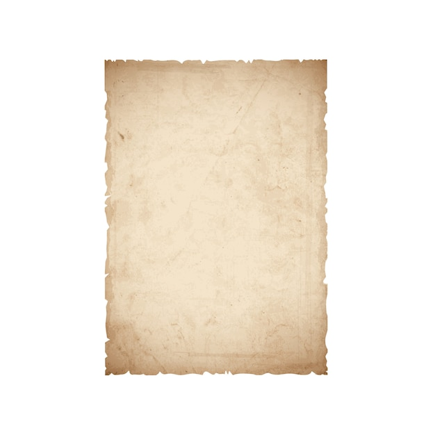 Sheet of old paper Premium Vector