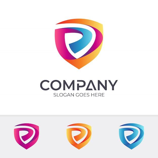P Logo Design Vector Free Download