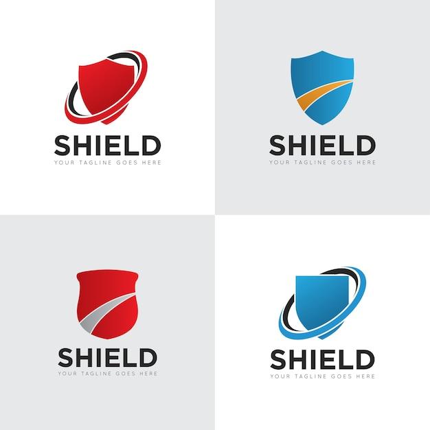 Shield logo Premium Vector