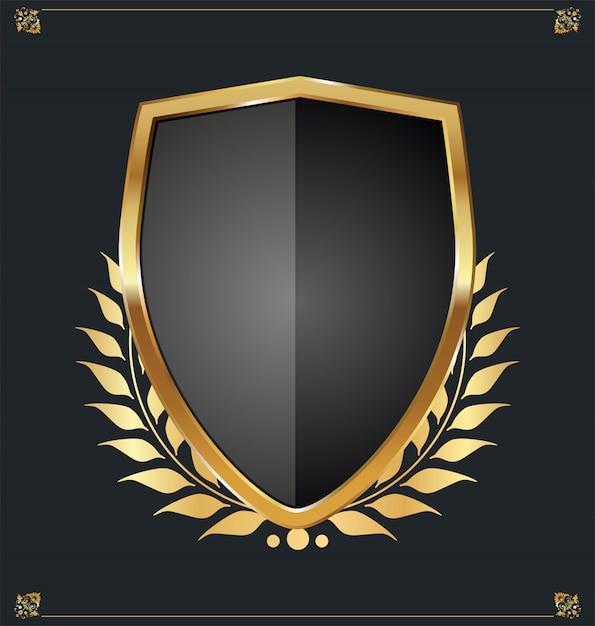 Shield Premium Vector
