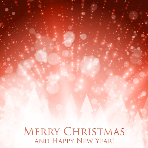Сияющий красочный рождество Бесплатные векторы