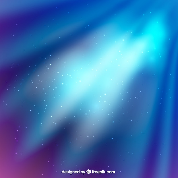 Shiny abstract space background