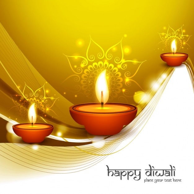 Shiny and golden diwali greeting vector free download shiny and golden diwali greeting free vector m4hsunfo