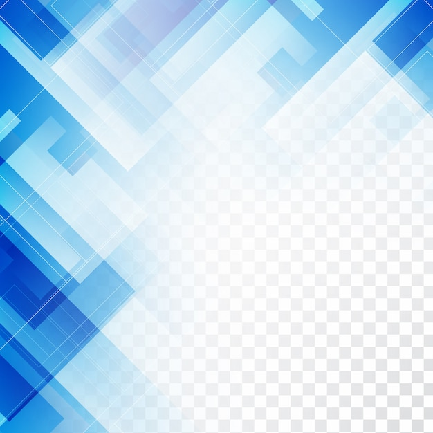 Shiny blue geometric background design