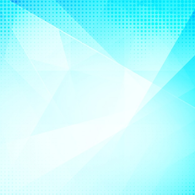 Shiny blue polygonal background