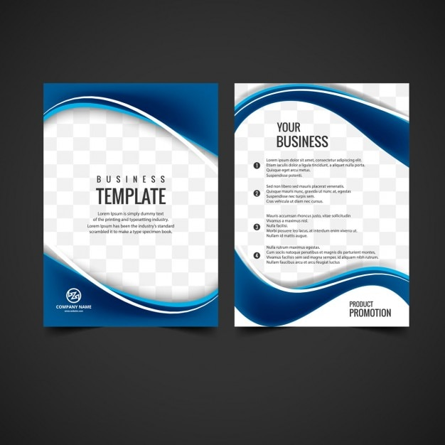 how to design a brochure in photoshop - shiny brochure design vector free download