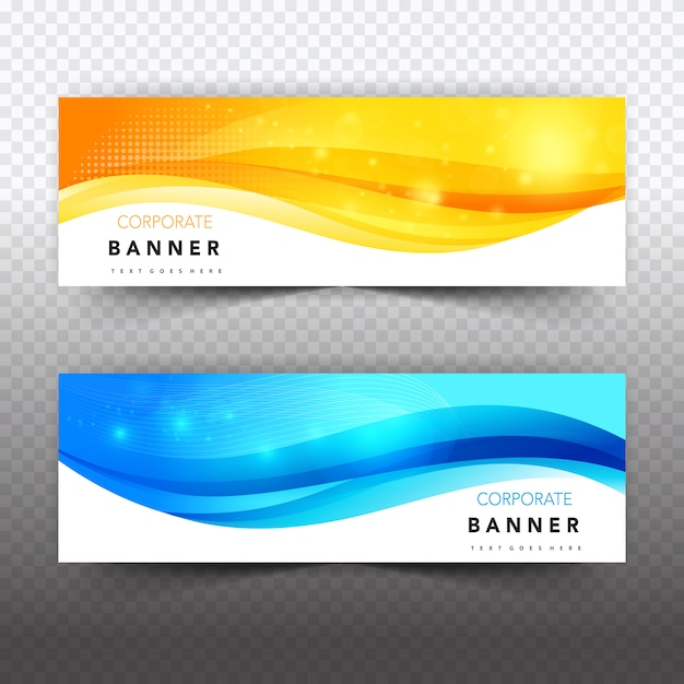 Shiny business banner