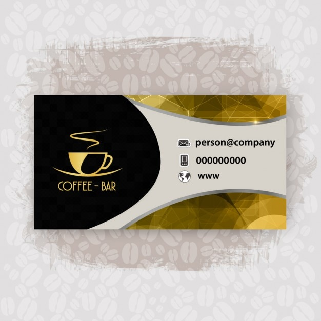 Shiny cafeteria business card vector free download shiny cafeteria business card free vector colourmoves