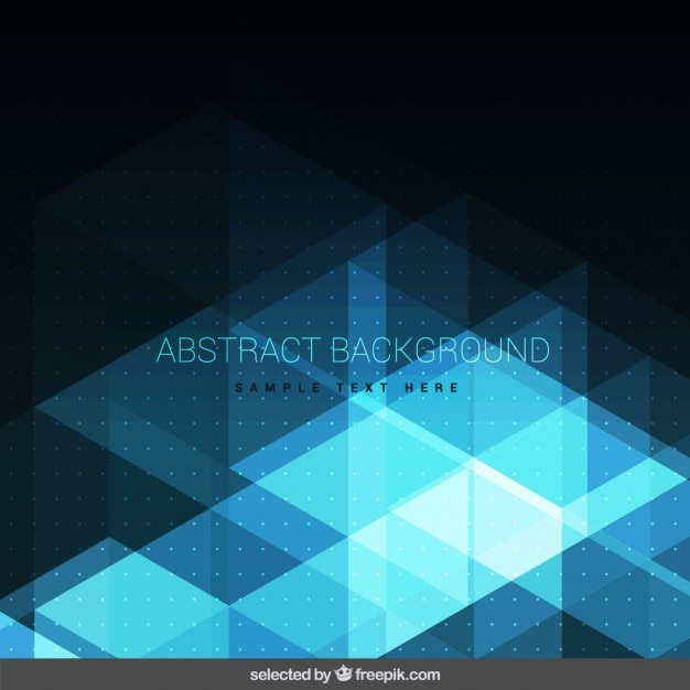 Shiny dark blue abstract background Vector | Free Download
