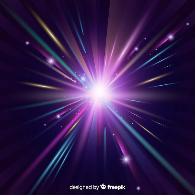 Shiny light background Free Vector