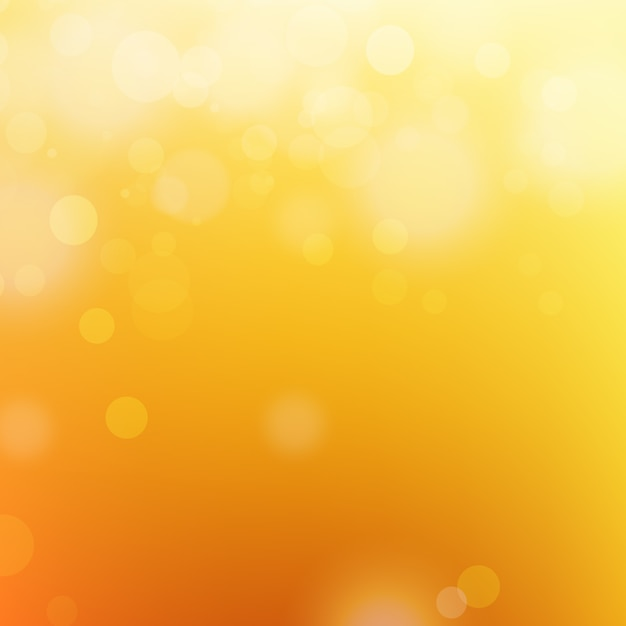 Shiny orange background Free Vector