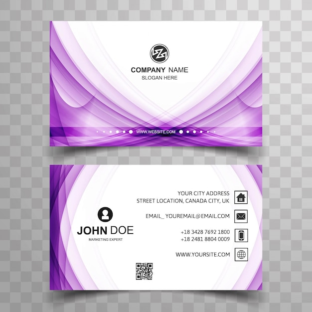 Shiny purple business card vector free download shiny purple business card free vector colourmoves Image collections