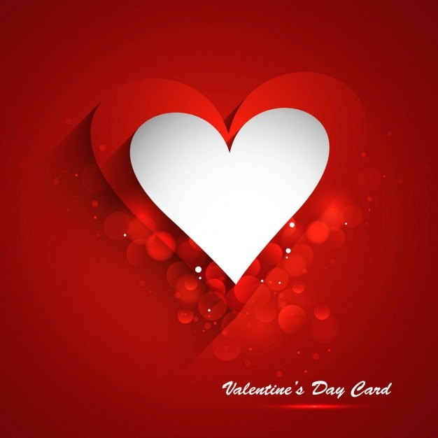 shiny red love background vector free download