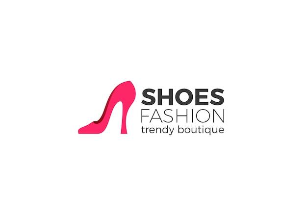 Логотип обуви. Бесплатные векторы