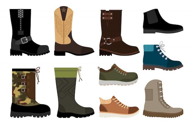 Shoes for men Premium Vector