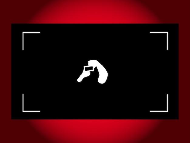 Shooting silhouette business card frame vector free download shooting silhouette business card frame free vector colourmoves