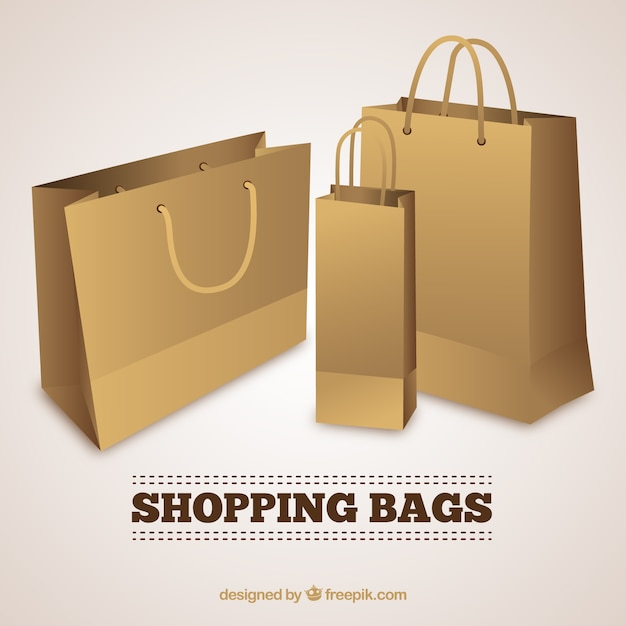 Shopping bags Vector | Free Download