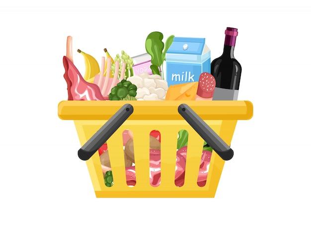 Shopping cart Premium Vector